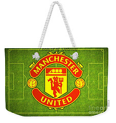 Manchester United Theater Of Dreams Large Canvas Art, Canvas Print, Large Art, Large Wall Decor Weekender Tote Bag
