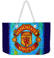 Manchester United Vintage Weekender Tote Bag