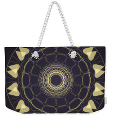 Mandala 3 Weekender Tote Bag