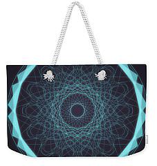 Mandala 5 Weekender Tote Bag
