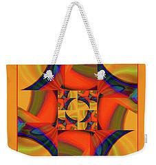Mandala #56 Weekender Tote Bag