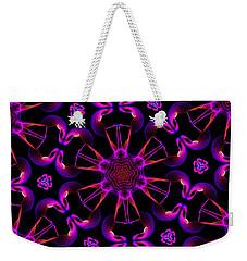 Mandala 9 Weekender Tote Bag