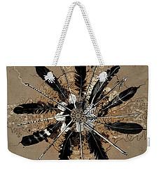 Mandala Arrow Feathers Weekender Tote Bag