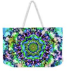 Mandala Art 1 Weekender Tote Bag by Patricia Lintner