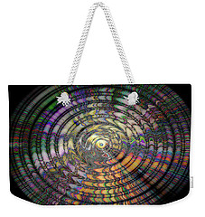 Weekender Tote Bag featuring the photograph Mandala by Cathy Donohoue