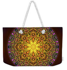 Mandala - Evening Sun Weekender Tote Bag
