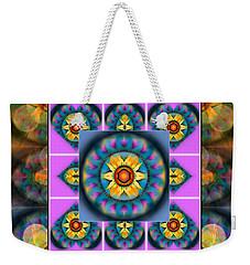 Mandala Heart Montage 4 Weekender Tote Bag