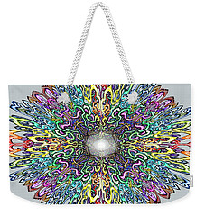 Mandala Weekender Tote Bag by Kevin Middleton