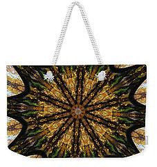 Mandala Of Autumn Trees. Weekender Tote Bag