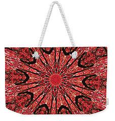 Mandala Of Autumn Woods Weekender Tote Bag
