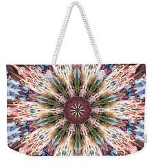 Mandala Of Blossom Weekender Tote Bag