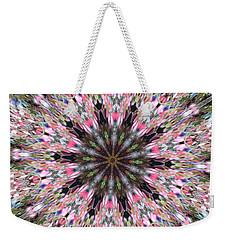Mandala Of Cherry Blossom Weekender Tote Bag