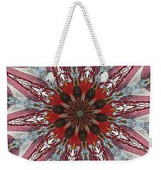 Mandala Of Glass Weekender Tote Bag