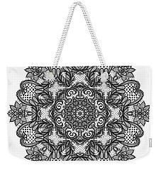 Mandala To Color 2 Weekender Tote Bag by Mo T