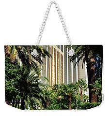 Weekender Tote Bag featuring the photograph Mandalay Bay Hotel by John Schneider
