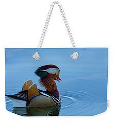 Majestic Mandarin Duck Weekender Tote Bag