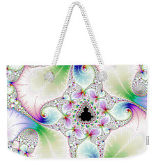 Mandebrot In Pastel Fractal Wonderland Weekender Tote Bag