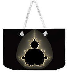 Mandelbrot Set Square Format Art Weekender Tote Bag by Matthias Hauser