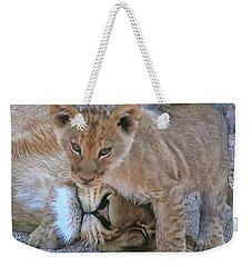 Mane Support  Weekender Tote Bag
