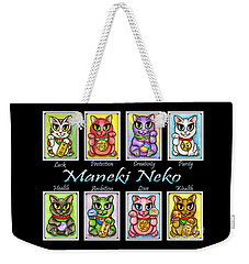 Maneki Neko Luck Cats Weekender Tote Bag