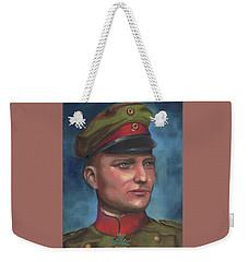 Manfred Von Richthofen The Red Baron Weekender Tote Bag