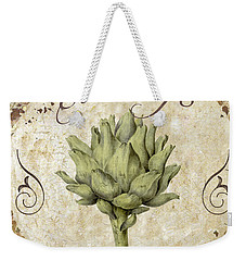 Mangia Carciofo Artichoke Weekender Tote Bag by Mindy Sommers