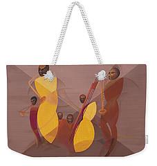 Mango Jazz Weekender Tote Bag by Kaaria Mucherera