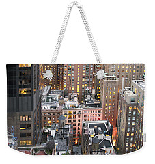 Manhattan At Dusk Weekender Tote Bag