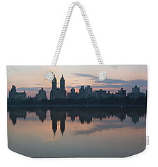 Manhattan At Night  Weekender Tote Bag