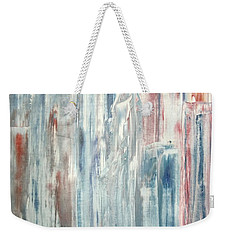 Weekender Tote Bag featuring the painting Manhattan by Bill OConnor