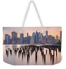 Manhattan Dusk Weekender Tote Bag