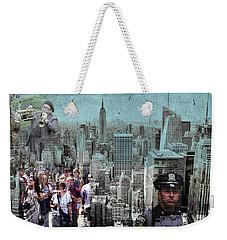 Manhattan Weekender Tote Bag by Judi Saunders
