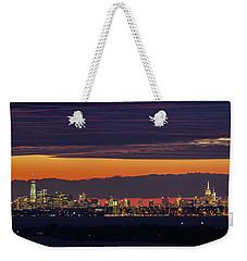 Manhattan Lights Weekender Tote Bag