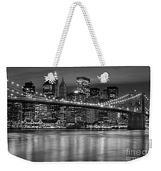Manhattan Night Skyline Iv Weekender Tote Bag