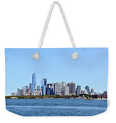 Manhattan Skyline 1 Weekender Tote Bag