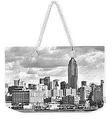 Manhattan Skyline No. 7-2 Weekender Tote Bag