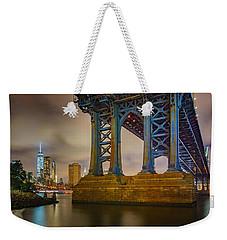Manhattan Steel Weekender Tote Bag