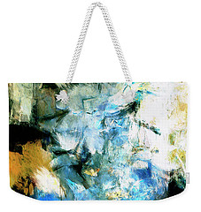 Weekender Tote Bag featuring the painting Manifestation by Dominic Piperata