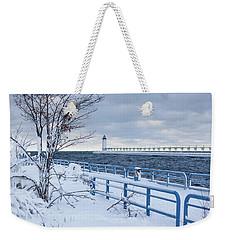 Manistee Pierhead Light Weekender Tote Bag