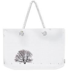 Manitoba Winter Weekender Tote Bag