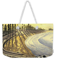 Manly Beach Sunset Weekender Tote Bag