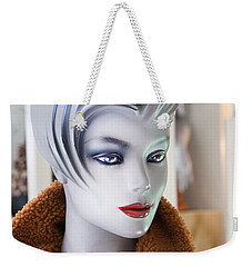 Mannequin 74a Weekender Tote Bag