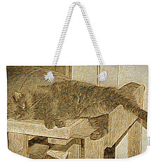 Mannie Is Relaxing Weekender Tote Bag