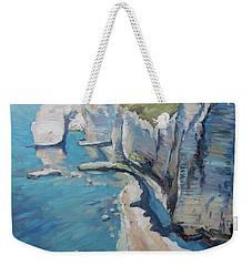 Manneport, The Cliffs At Etretat Weekender Tote Bag