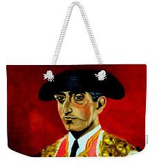 Manolete  Weekender Tote Bag