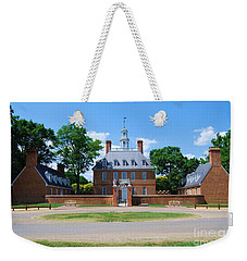 Weekender Tote Bag featuring the photograph Mansion by Eric Liller