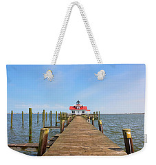 Manteo Lighthouse Weekender Tote Bag