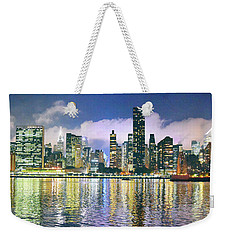 Manthattan Reflection Weekender Tote Bag
