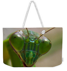 Mantis Face Weekender Tote Bag by Jonny D