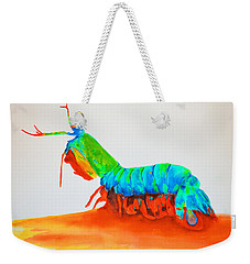 Mantis Shrimp Weekender Tote Bag